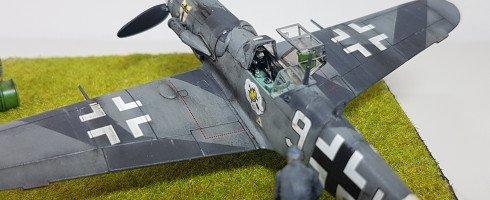 1/72 Messerschmitt BF-109 G-6 (kit Italeri)