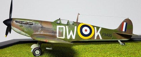 1/72 Supermarine Spitfire MkIa (kit Airfix)