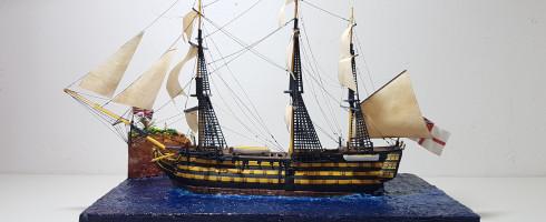 1/450 HMS Victory (kit Revell)