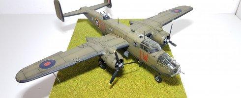 1/72 North American B25 Mitchell MkII (kit Airfix)