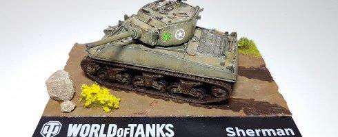 1/72 M4 Sherman A1 (kit Italeri)